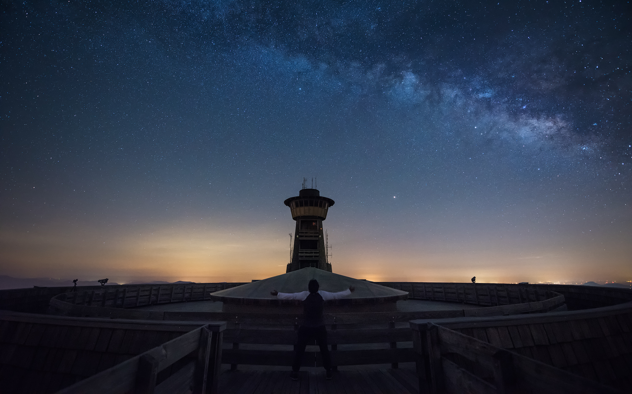 Another day in the milky way - Brasstown Bald, Georgia