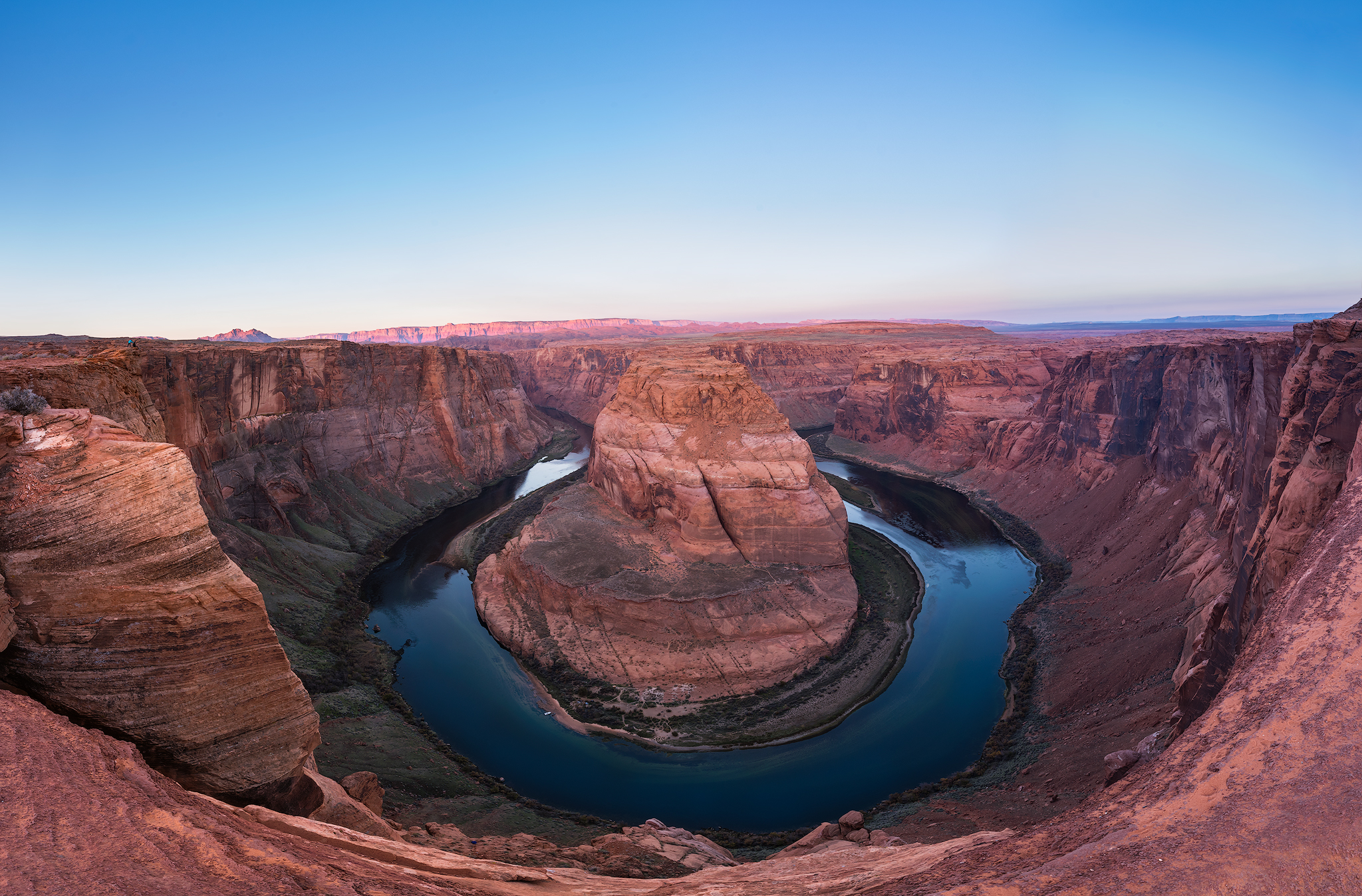 Early morning shot of Horseshoe Bend, Arizona.