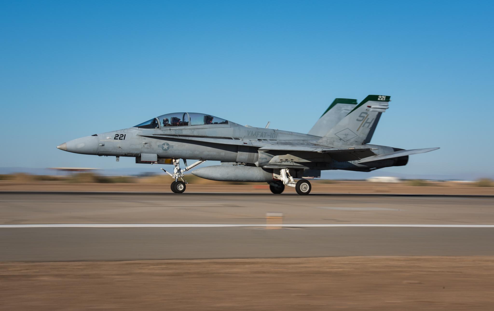 F/A-18 Hornet - Naval Air Facility El Centro, California