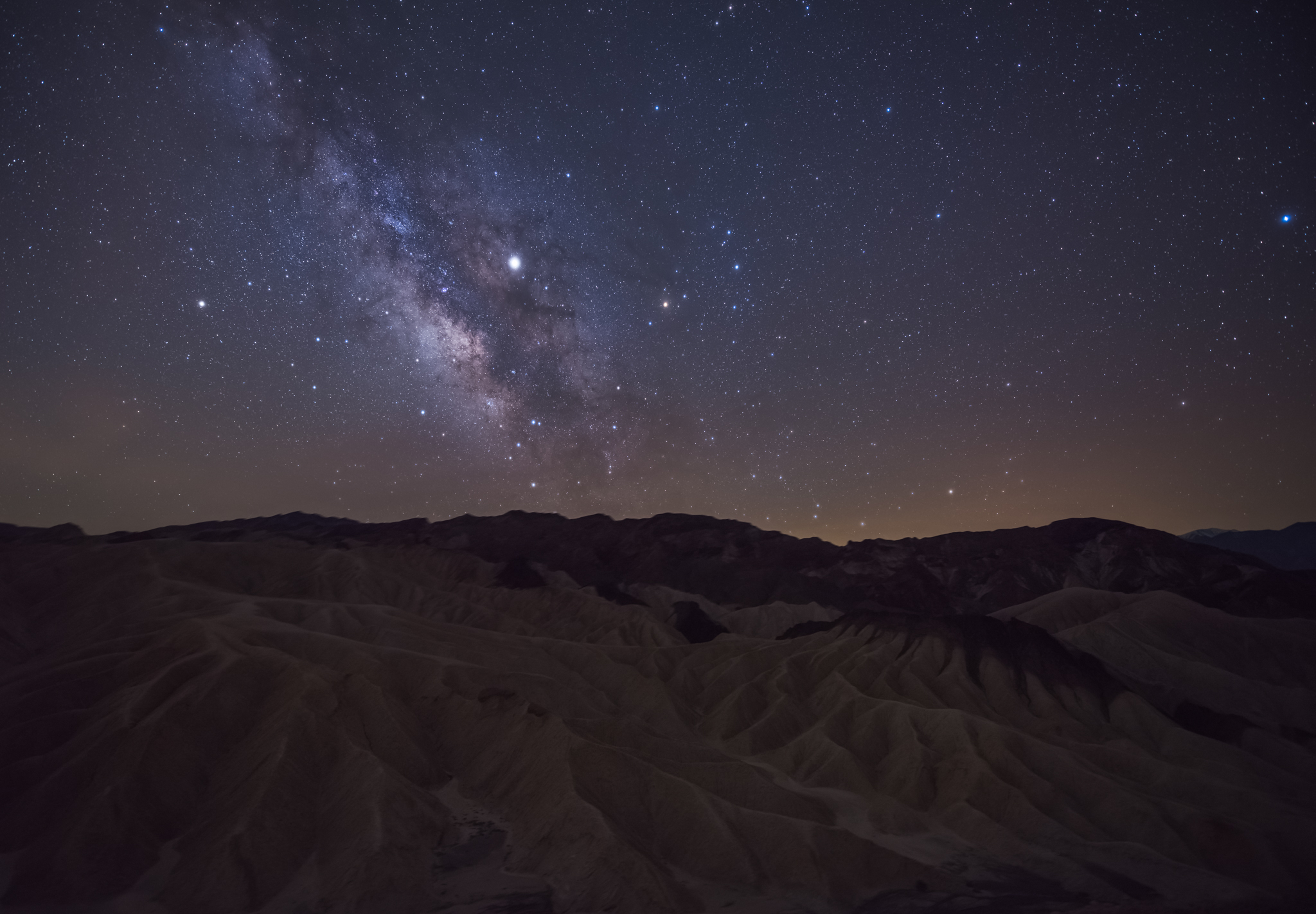 Guiding stars - Death Valley, CA